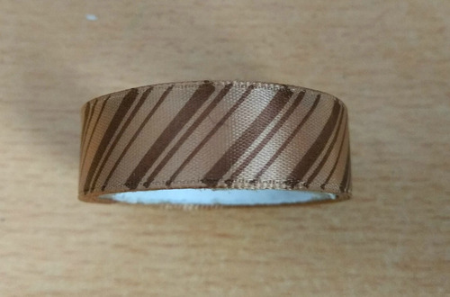washi tape individual modelo chocolate lineas marrones