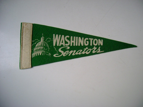 washington senators banderin baseball