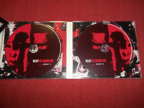 wasp - the crimsol idol cd doble ingles ed 2008 mdisk