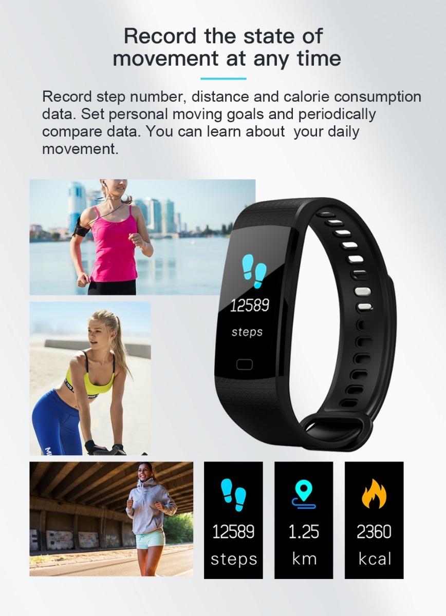 a8f7f61e34358 Reloj Smart Band Sport Watch Inteligente Conecta Tu Celular ...