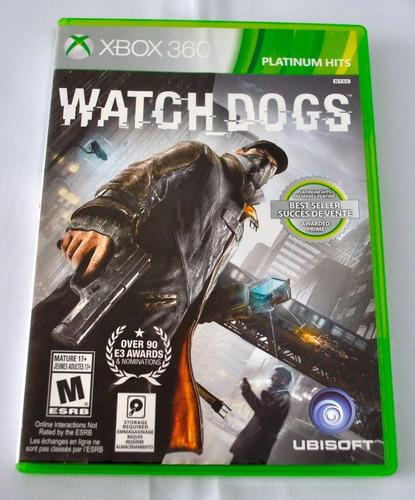 watch dogs 1, xbox360