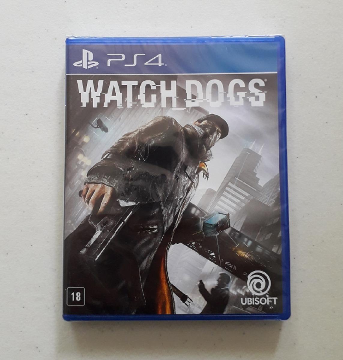 7fe51d415 Watch Dogs 100% Português Mídia Física Ps4 Novo Lacrado Cd - R  79 ...