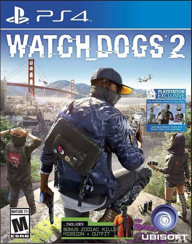 watch dogs 2 ps4 físico envío grátis.