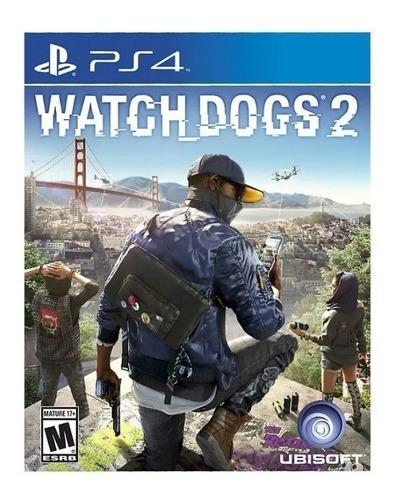watch dogs 2 ps4 // fisico sellado // mathogames