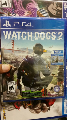 watch dogs 2 ps4 nuevo sellado