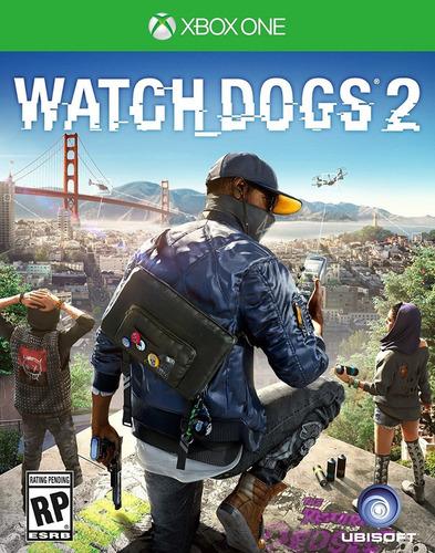 watch dogs 2 xbox one nuevo y sellado  (en d3 gamers)