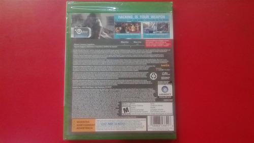 watch dogs edicion especial sellado juego xbox one