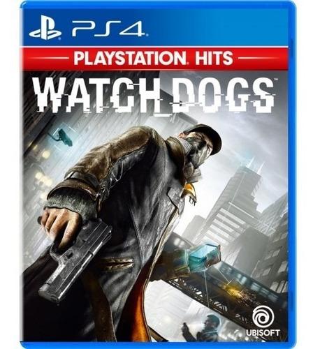 watch dogs - fisico ps4 nuevo & sellado