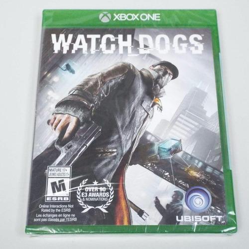 watch dogs -juego -xbox one -sellado