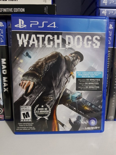 watch dogs juegos ps4
