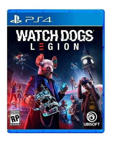 watch dogs legion ps4 juego fisico sellado nuevo original