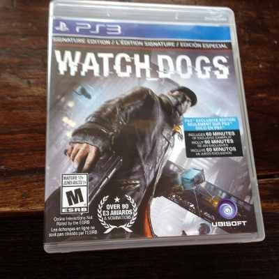 watch dogs ps3 - delivery