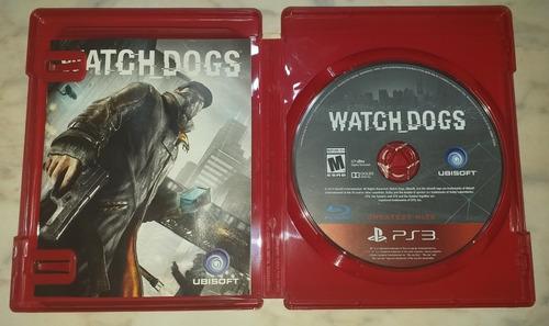 watch dogs ps3 juego físico disco
