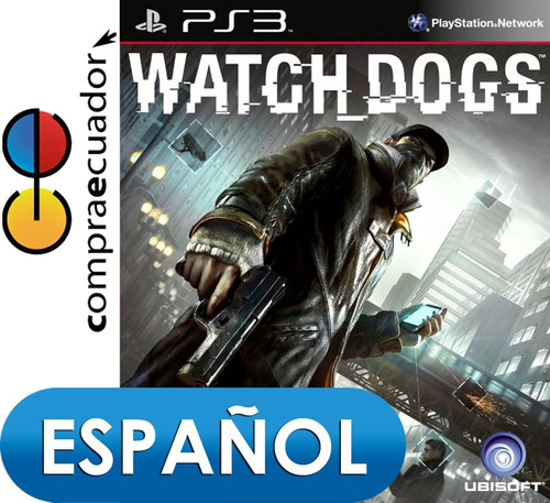 watch dogs ps3 playstation 3 juego fisico original sellado
