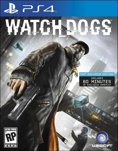 watch dogs ps4 nuevo, sellado