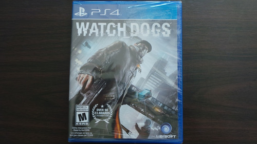 watch dogs ps4 nuevo sellado
