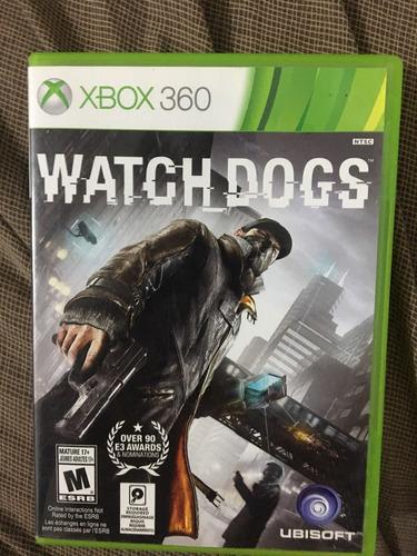 watch dogs *xbox 360*