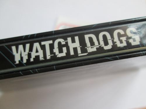 watch dogs xbox 360 edicion caja metalica 3 discos seminuevo