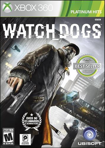 watch dogs xbox 360 + envio gratis