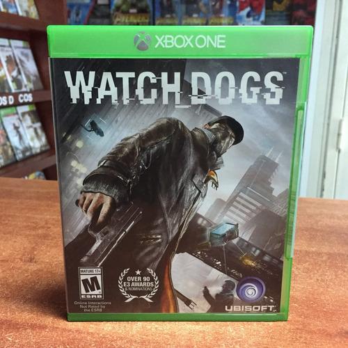watch dogs xbox one usado perfecto estado tienda fisica