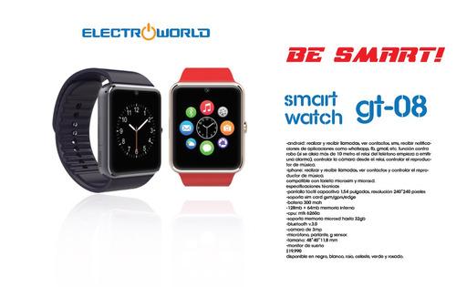 watch gt08 smart