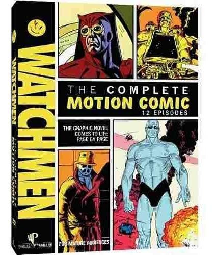watchmen o completo motion comic 12 episódios dvd