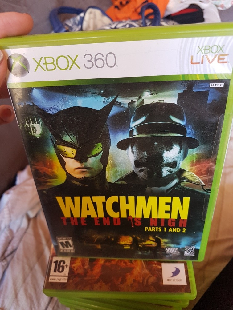 Watchmen The End Is Night Original Xbox 360