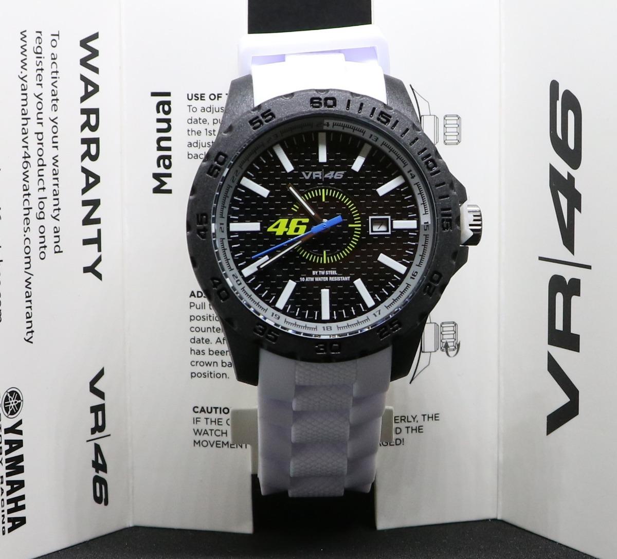 Y Yamaha Vr46 40 WatchoutReloj Tw Vr4 Serie Steel 45mm dCxBoer