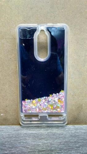 water case/protector pecera para lenovo k6 con glass!!!