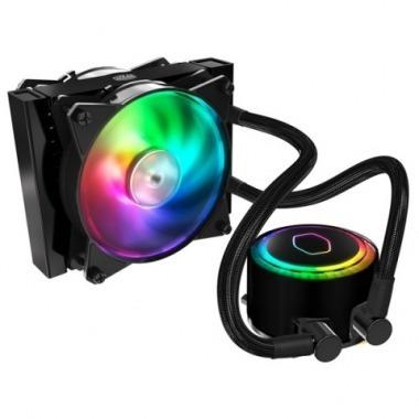 water cooler coolermaster ml120r rgb para intel amd envio