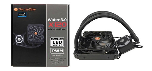 water cooler thermaltake water 3.0 riing 12 red x120 aio
