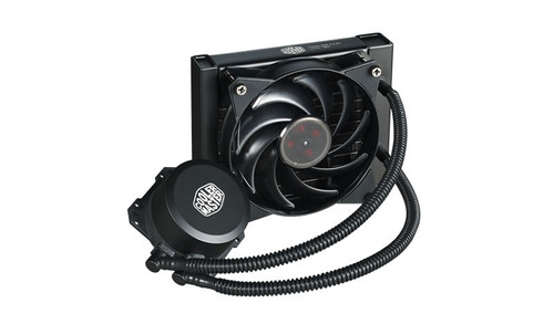 water cooling cooler master masterliquid lite 120 intel amd