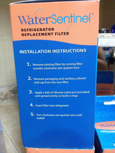 water sentinel filtro de reemplazo wsl 1 - refrigerador lg