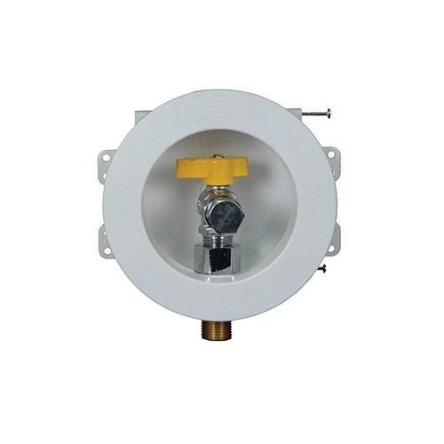 water-tite 88106 mini caja de salida de gas redonda con clav