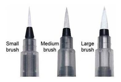 waterbrush blister x3 medidas chico medio grande microcentro