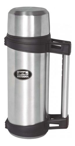 waterdog termo de acero inoxidable con manija rígida 1.2lt