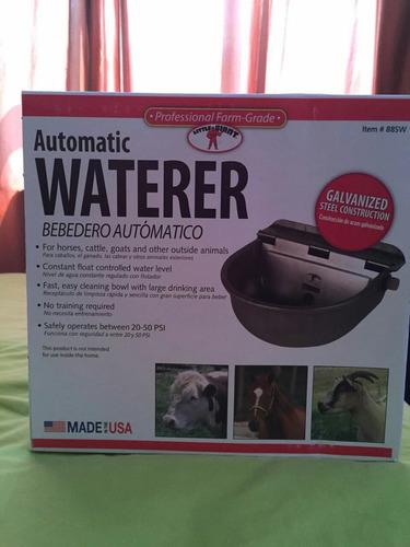 waterer automatic bebedero para caballos