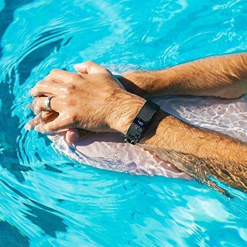 waterfi impermeabilizado fitbit cargo hr rastreador de activ