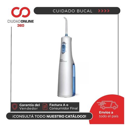 waterpik irrigador bucal dental + 2 niveles de presión + 2 picos