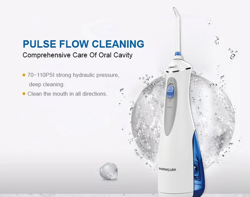 waterpulse irrigador ducha bucal  + 4 picos + 110 psi