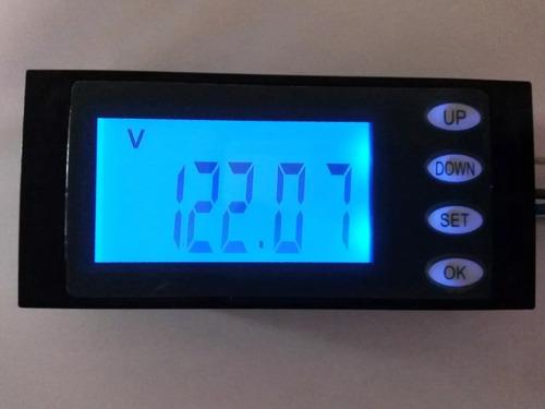 watímetro voltimetro amperimetro tensão ac 20a 80~260v kwh