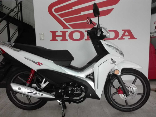 wave 110 año 2018 nueva honda color  blanco