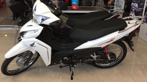 wave 110s honda 0 km blanca roja 2017 negra moto sur