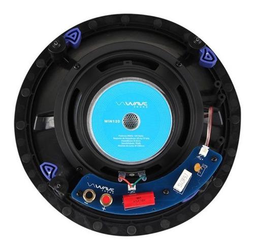 wave sound  win 120 wsr120 kit caixa de embutir home 5.0