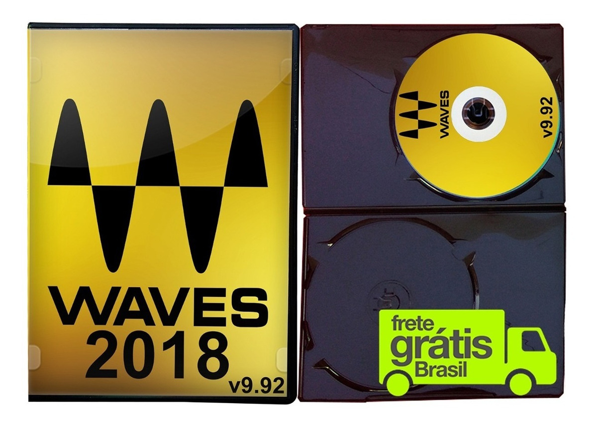 Waves 9 2018 Completo V9 92 Vst Aax 32 64bits - Para Windows