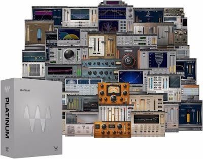 waves platinum v9 vst plugins rtas
