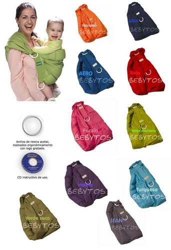 wawita portabebé original colores.directo distribuidor nac