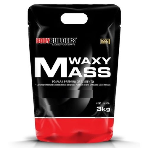 waxy mass 3000g moran refil whey 454g refil bcaa 120cáps coq