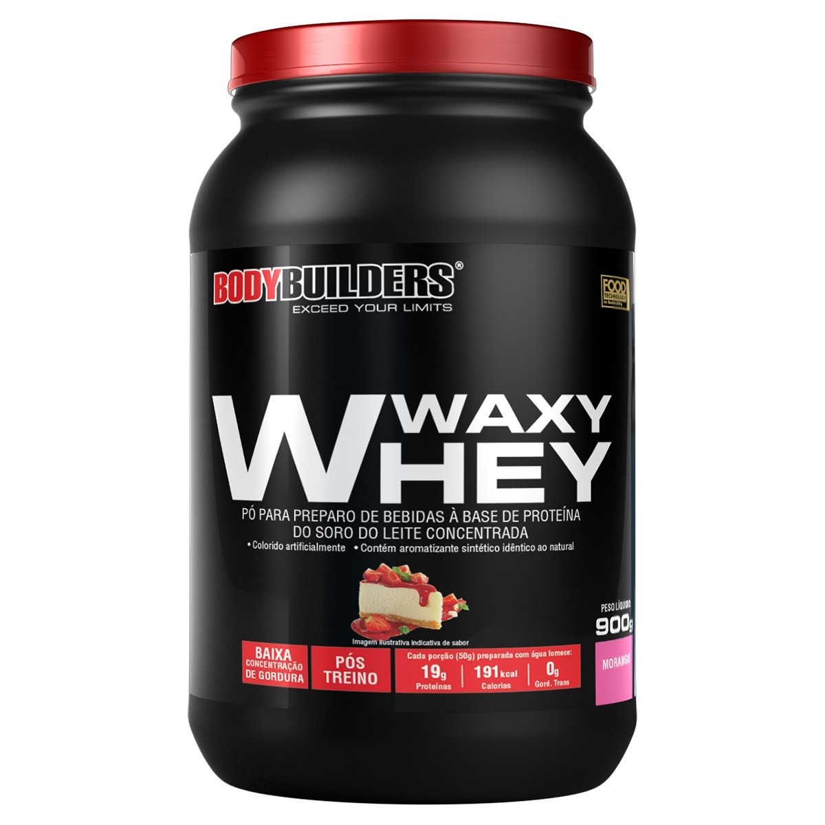 dc4ffcf9c waxy whey protein 900g - bodybuilders. Carregando zoom.