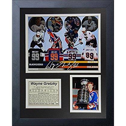 Wayne Gretzky - Collage De Fotos Con Marco De 11 X 14 D ...